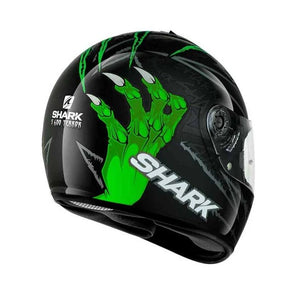 Shark S 600 Terror Black Green Helmet