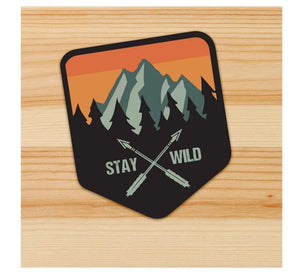 Stay Wild Stickers for Motorcycles