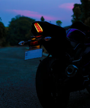 Integrated LED Tail Light With Indicator and multi color DRL for YAMAHA R15 V3.0