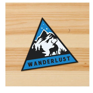 Wanderlust stickers for motorcycles