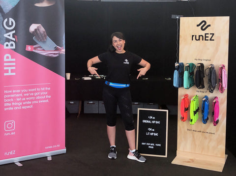 Hip Bags at Auckland Marathon Expo