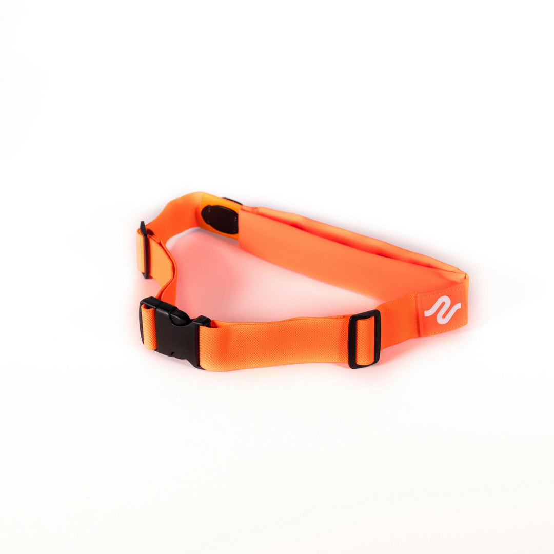 Orange runEZ Hip Bag LIT Back