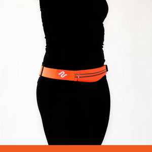 Orange runEZ Hip Bag LIT Front