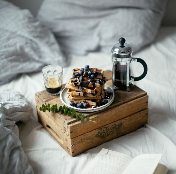 A reclaimed wooden tray & how to style it in your home
