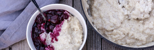 Swedish food – a traditional Scandinavian Rice Pudding Recipe