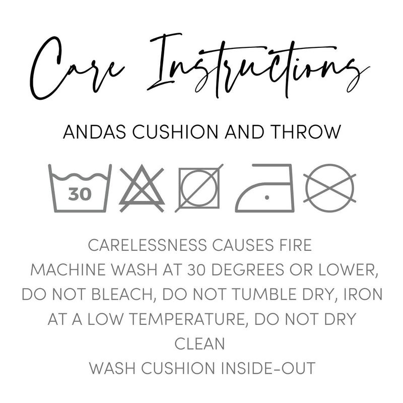 Andas Cotton Cushion