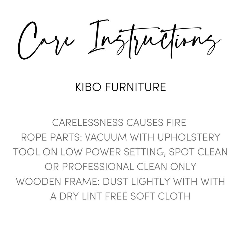 Kibo Handmade Wooden Lounge Chair