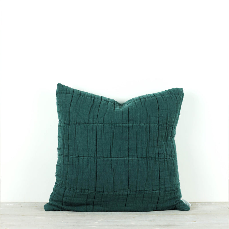 Nora Grid Cushion Pine