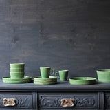 Parrot Green Ceramic Bowl