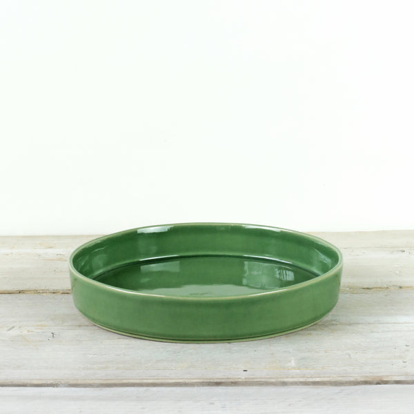 Parrot Green Ceramic Pasta Bowl