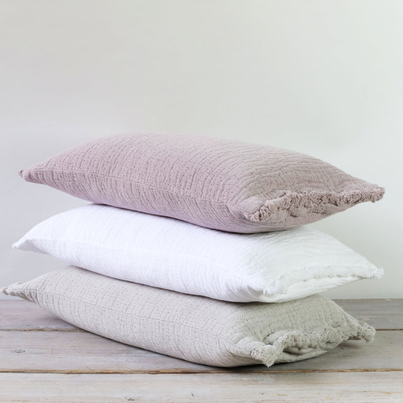 Simo Textured Cushion Heather