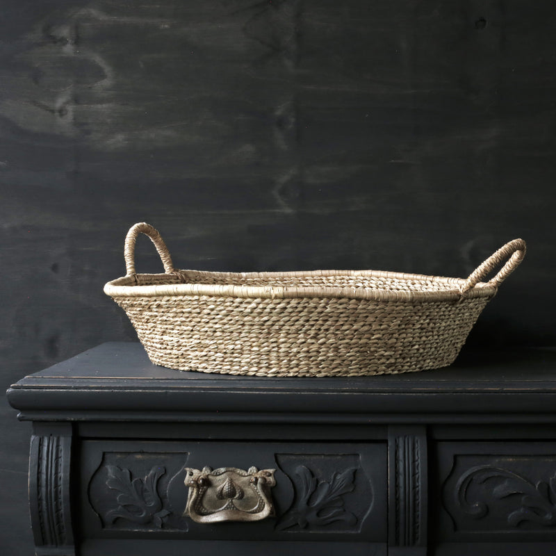 Large Twisted Seagrass Tray