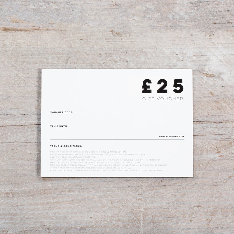 £25 Gift Voucher from ALSO Home