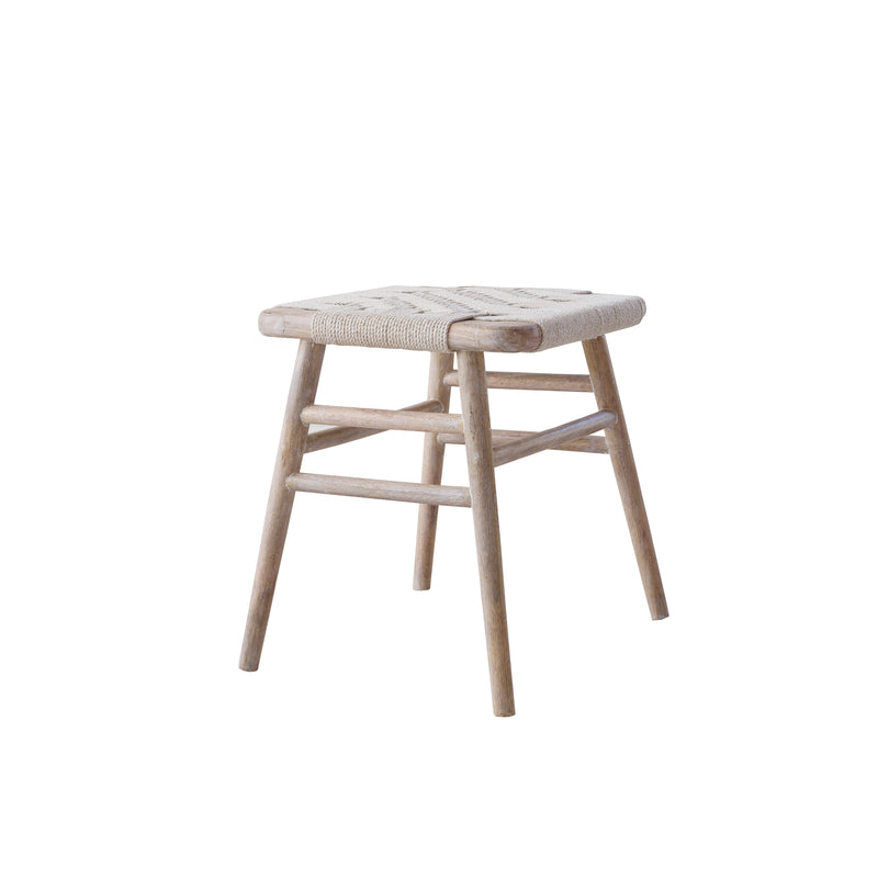 Kibo Handmade Wooden Small Stool