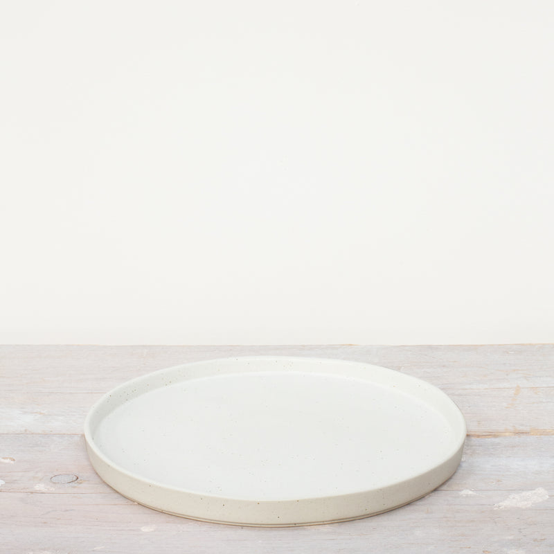 Kivi Speckled Stoneware Dinner Plate