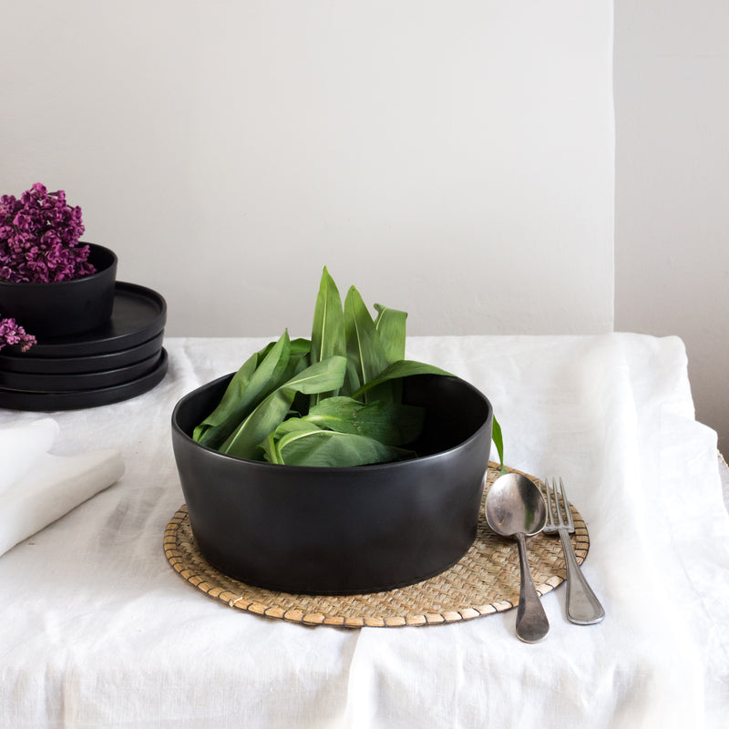 Kuro Ceramic Salad Bowl