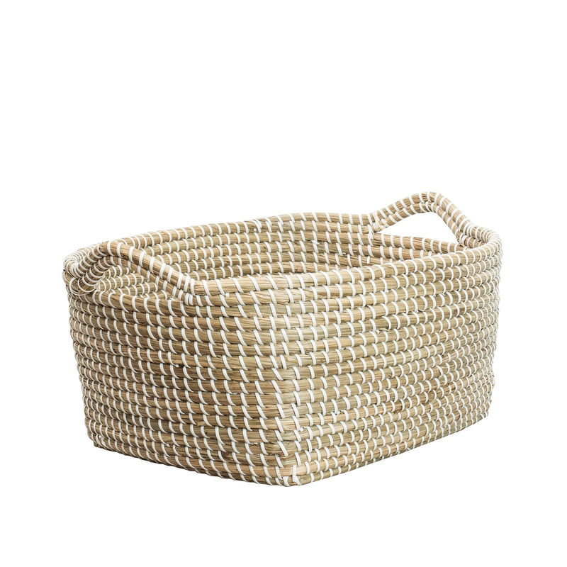Lagra Hand Woven Seagrass Basket