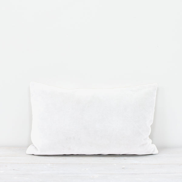 Misi Chalk Velvet Cushion
