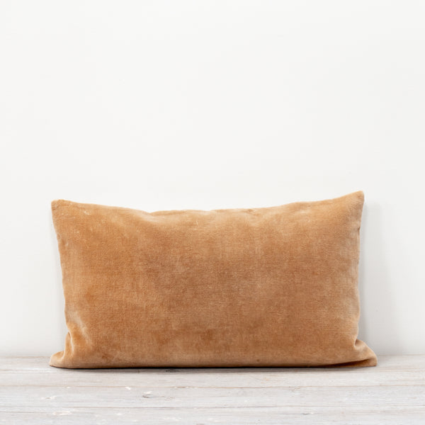 Misi Camel Velvet Cushion