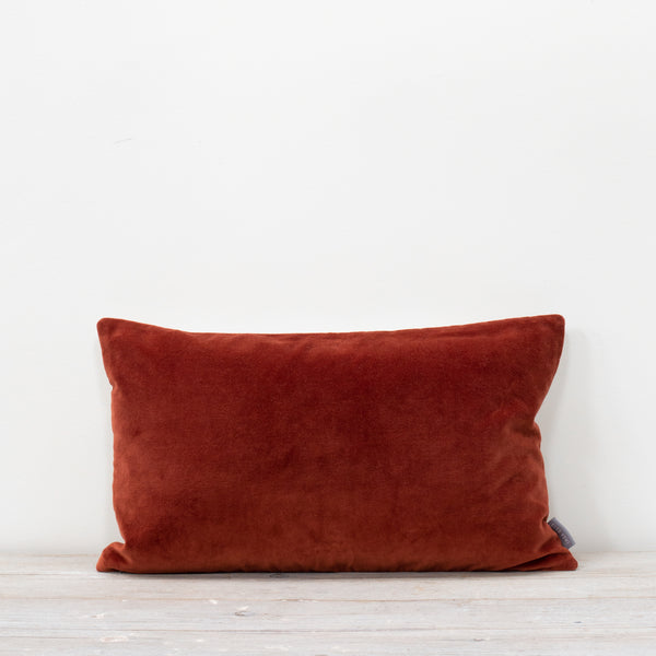 Misi Rust Velvet Cushion