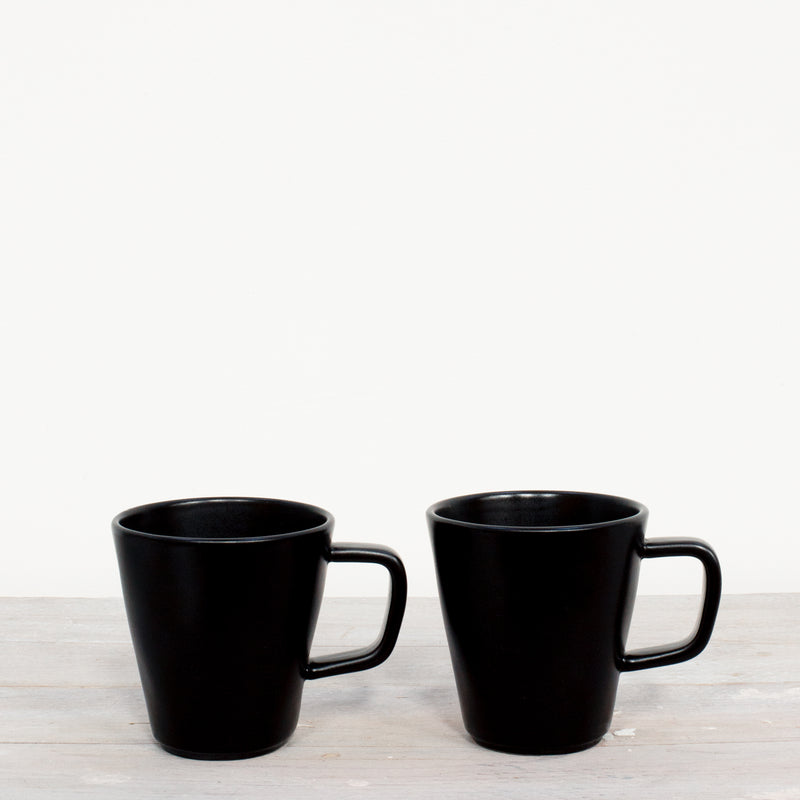 Kuro Ceramic Mug Set of 2