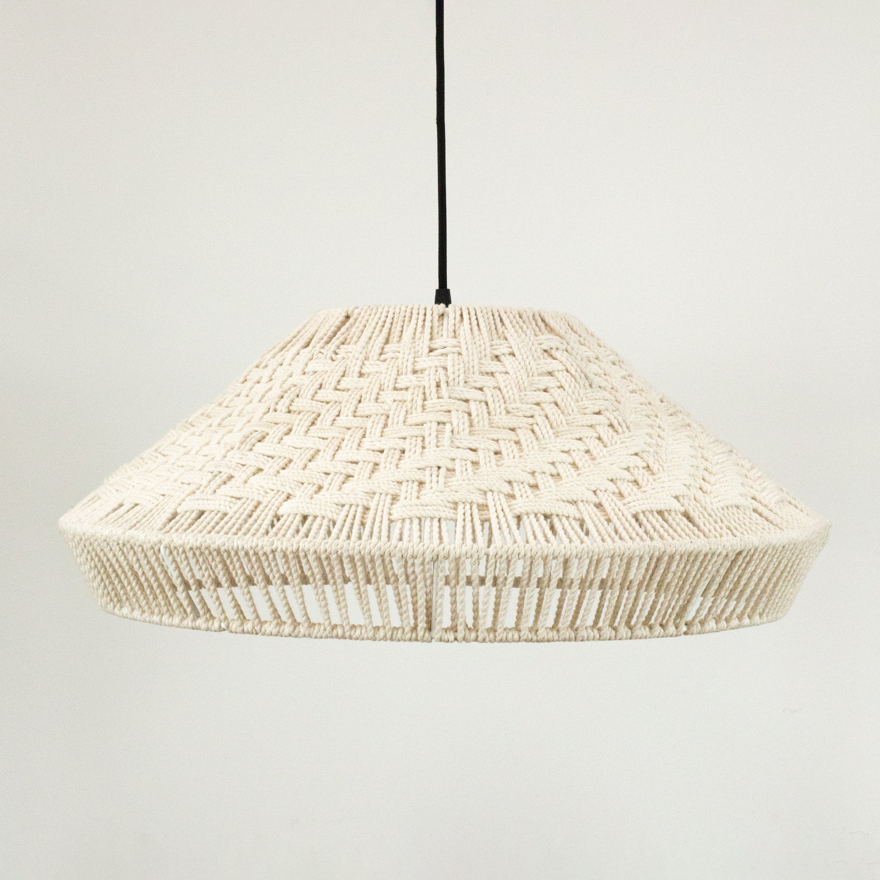 Also Home Ori Natural Rope Pendant Shade