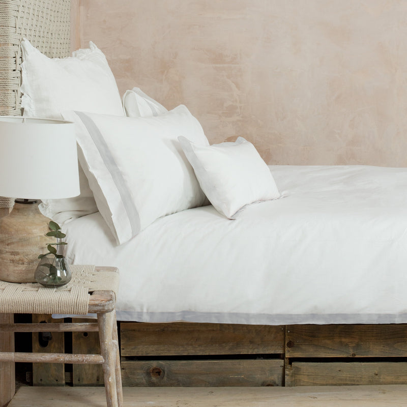 Orsa Bed Linen Silver Grey