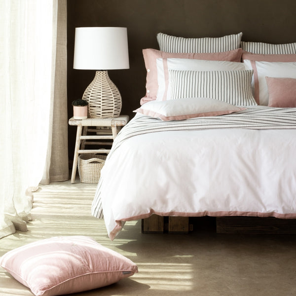 Orsa Bed Linen Blush
