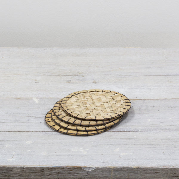 Seagrass Coasters Set of 4