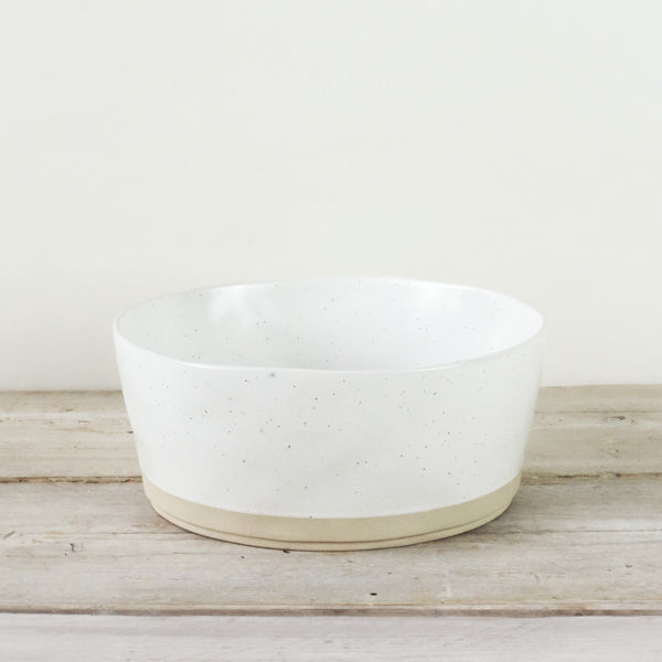 Kivi Speckled Stoneware Salad Bowl
