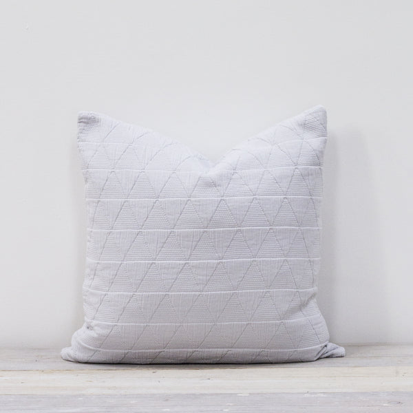 Stockholm Silver Grey Cushion