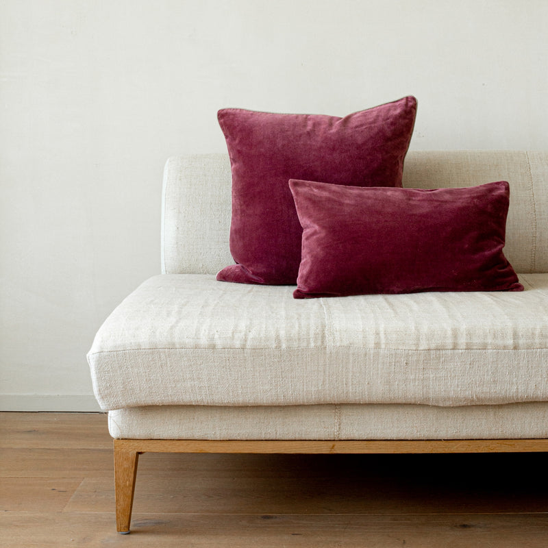 Unari Pomegranate Velvet Cushion
