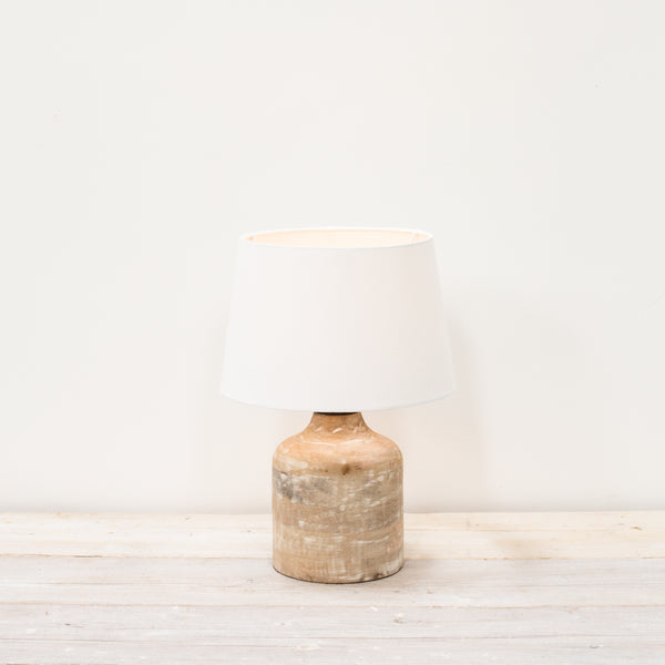 Vara Small Lamp with White Shade