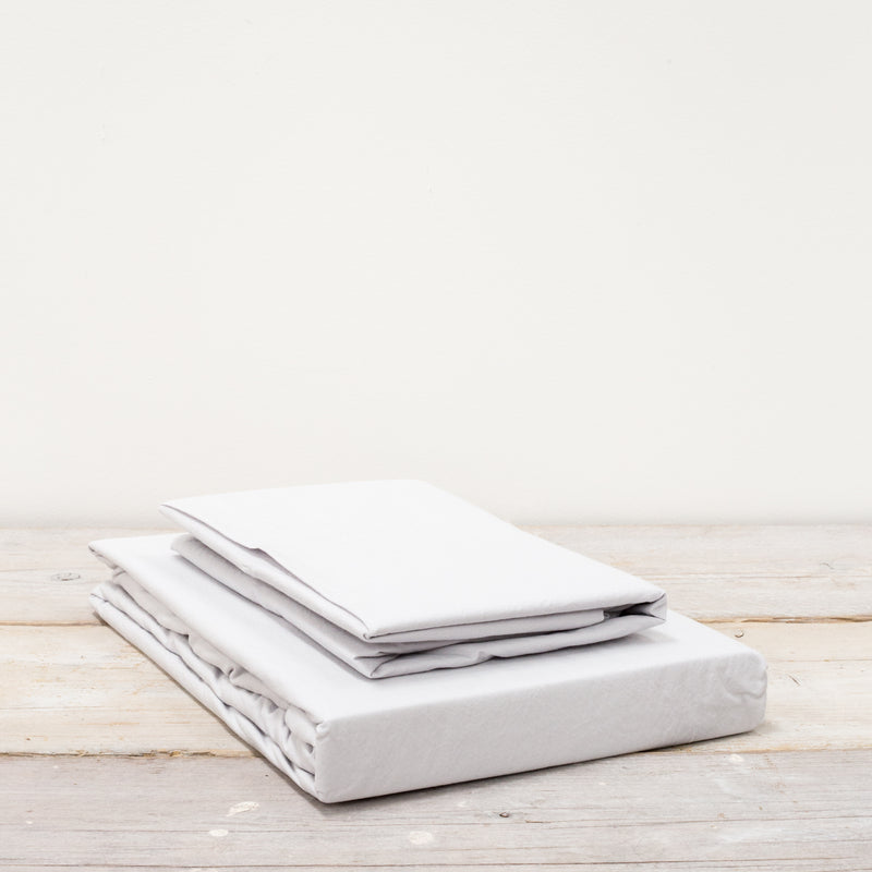 Vika Silver Grey Deep Fitted Sheets