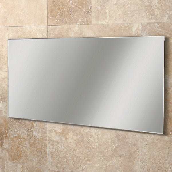 Willow Rectangular Bathroom Wall Mirror - 60 cm x 120 cm