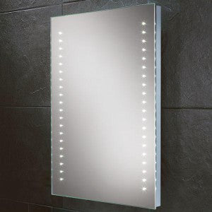 Lucca LED Rectangular Bathroom Wall Mirror - 70 cm x 50 cm