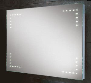 Larina LED Rectangular Bathroom Wall Mirror - 60 cm x 80 cm