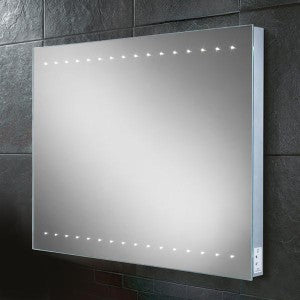 Epic LED Rectangular Bathroom Wall Mirror - 60 cm x 80 cm