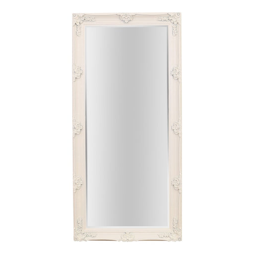 Abbey Leaner Full Length Cream Mirror