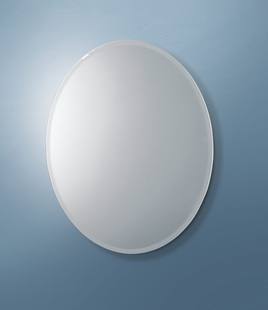 Alfera Oval Bathroom Wall Mirror
