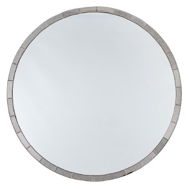 Berlin Art Deco Round Wall Mirror