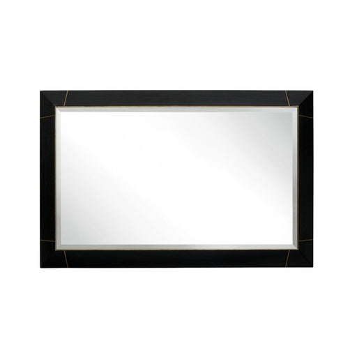 Cambio Dark Brown Rectangular Frame Wall Mirror