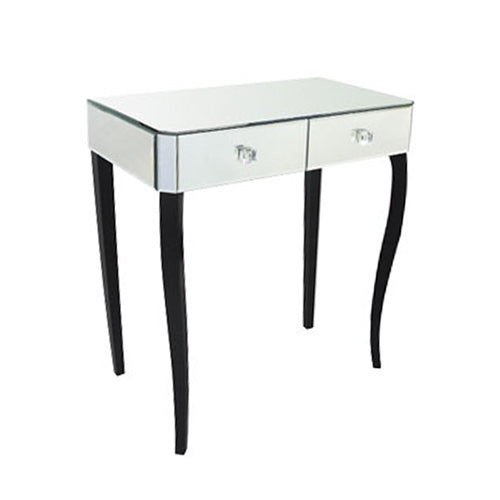 Clarissa Mirrored 2 Drawer Dressing Table