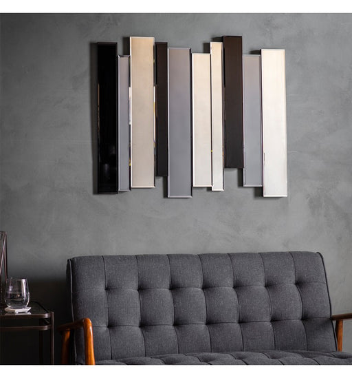 Duval Art Deco Wall Mirror
