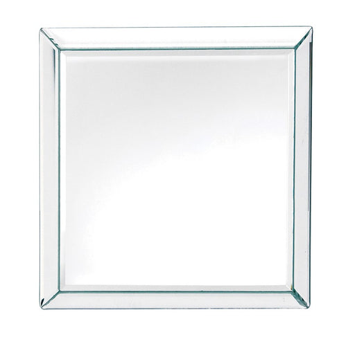 Square Clear Border Venetian Wall Mirror