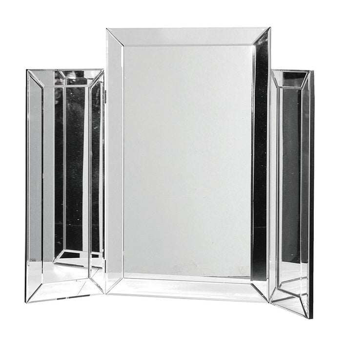 Venetian Plain 3 Piece Folding Dressing Table Mirror