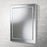 Emma Clear Glass Rectangular Bathroom Wall Mirror - 50 cm x 40 cm