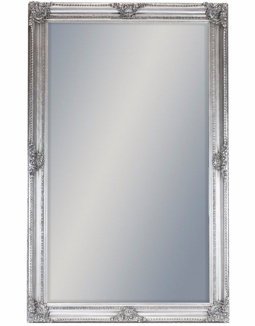 Extra Large Antique Silver Rectangular Mirror - 240 cm x 150 cm