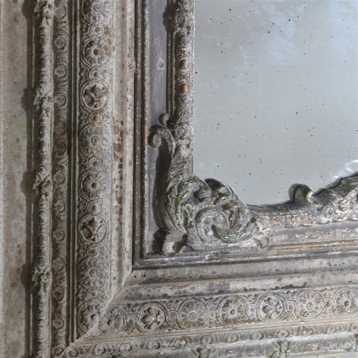 Elaborate 3 Piece Wall Panel with Mirror