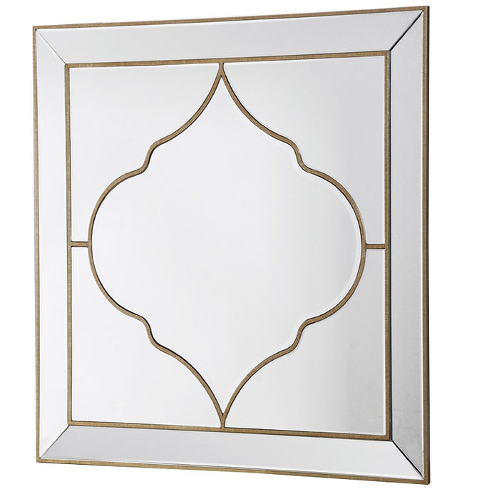 Venetian Alhambra Square Double Border Wall Mirror